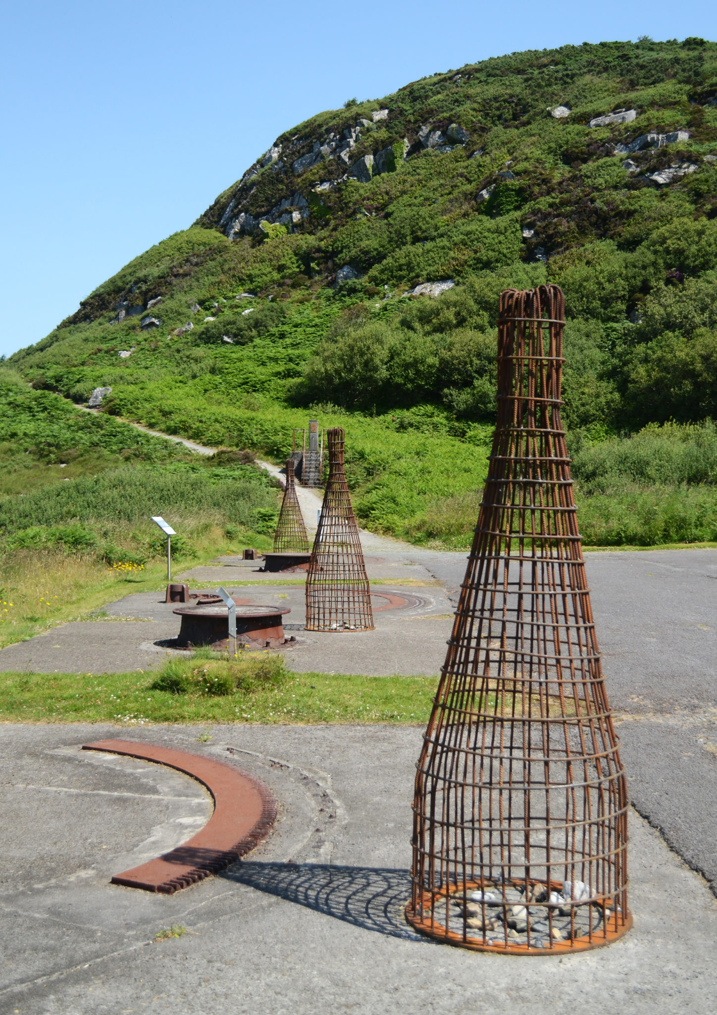Gathering: sculpture installation at Fort Dunree